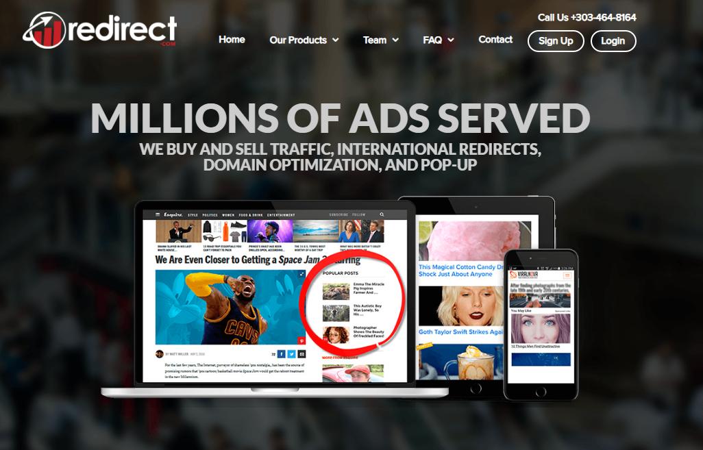 redirect publicidad nativa