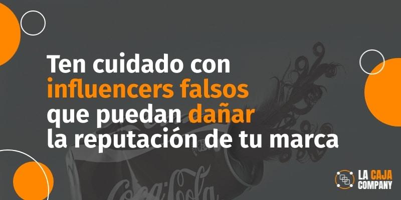 detectar falsos influencers